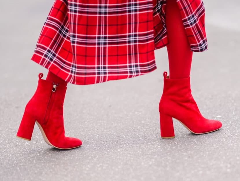scarpe rosse da donna in vernice basse con tacco medio largo basso donna moderna scarpe rosse da donna in vernice
