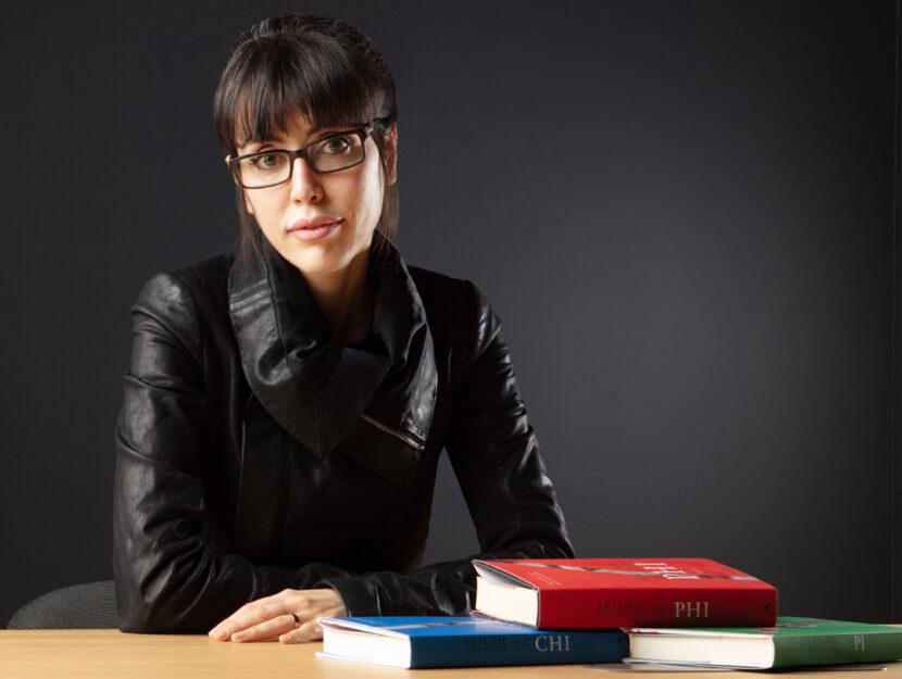 Akilah Azra Kohen, autrice del romanzo Phi