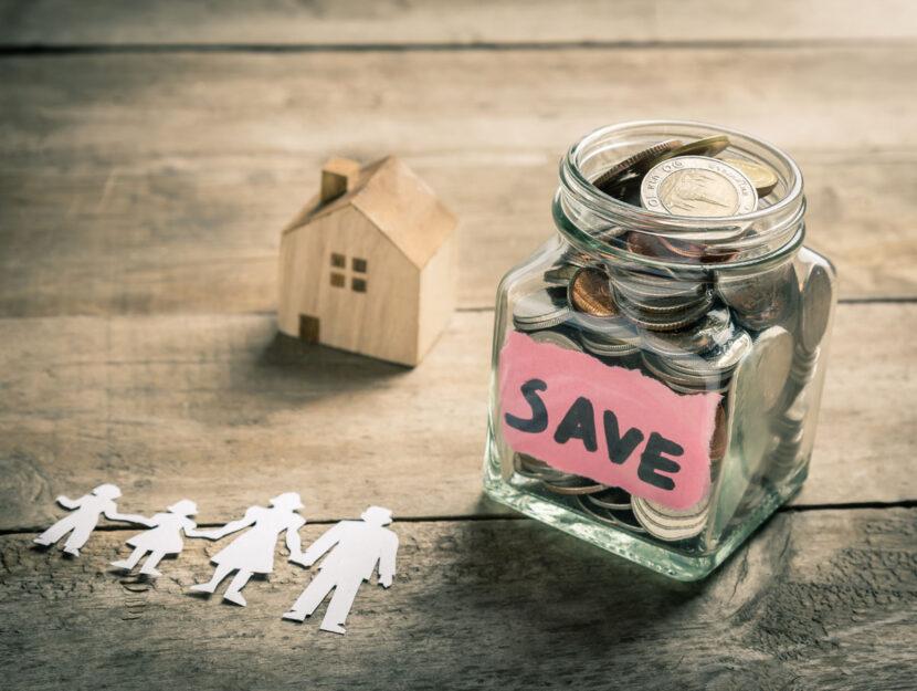 Famiglia risparmio soldi casa