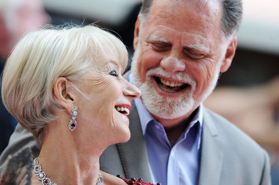 L'attrice Helen Mirren e il marito Taylor Hackford, insieme da 32 anni