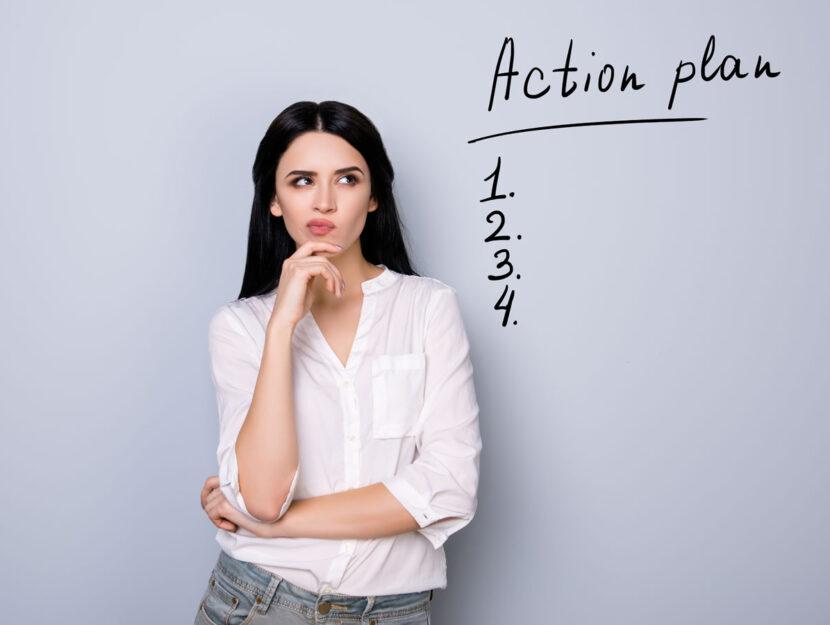 Ragazza action plan lista propositi