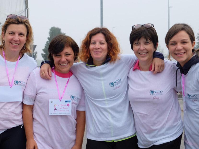 Da sinistra: Cristiana Bignotti, Mariarita Sciortino, Alessia Sironi, Giusy Sinacori e Alessia Piane