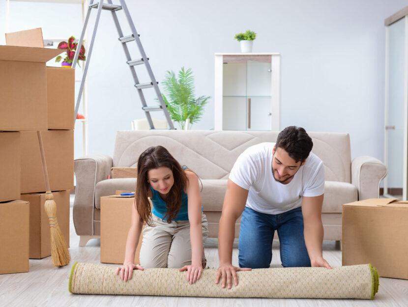 coppia lavori casa mobili