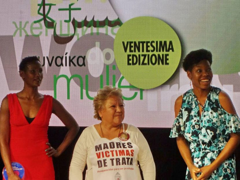 Le vincitrici del 2018:da sinistraWaris Dirie, Margarita Meirae Isoke Aikpitanyi