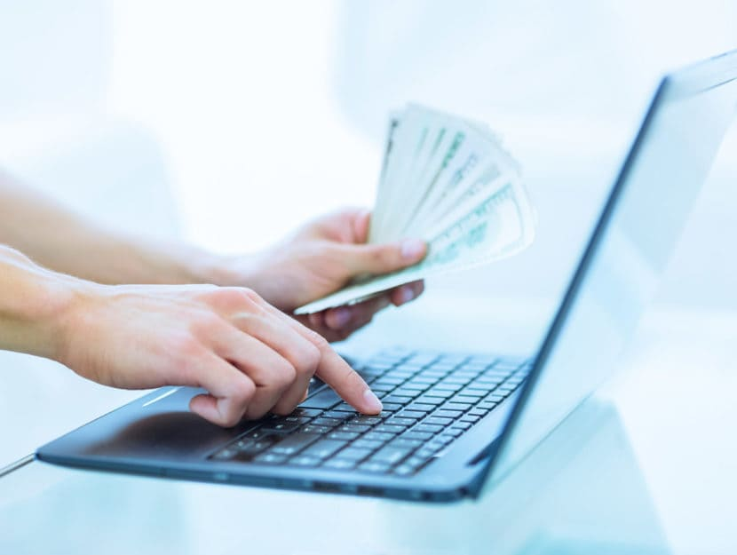 Donna computer soldi portatile