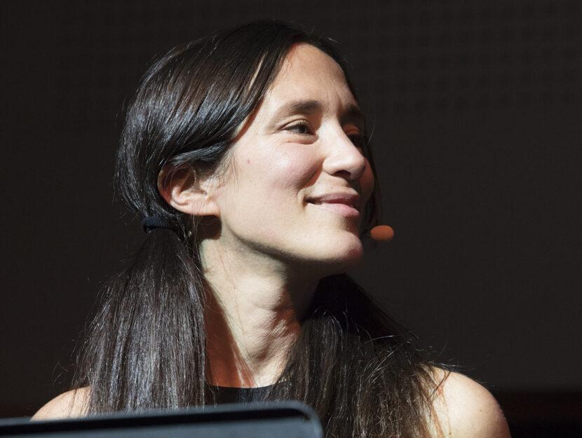 Chiara Gamberale a Tempo di libri 2018, foto Rosdiana Ciaravolo/Getty Images