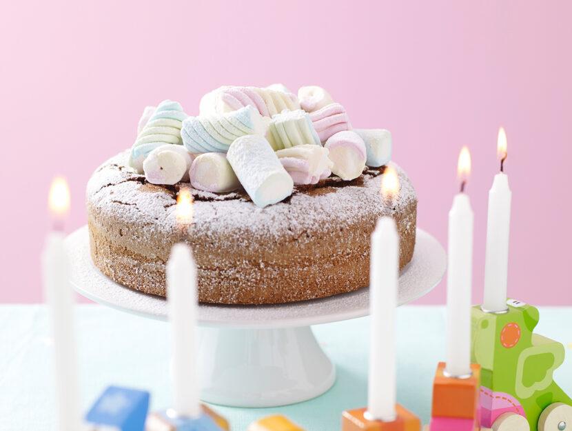 torta soffice ai marshmallow