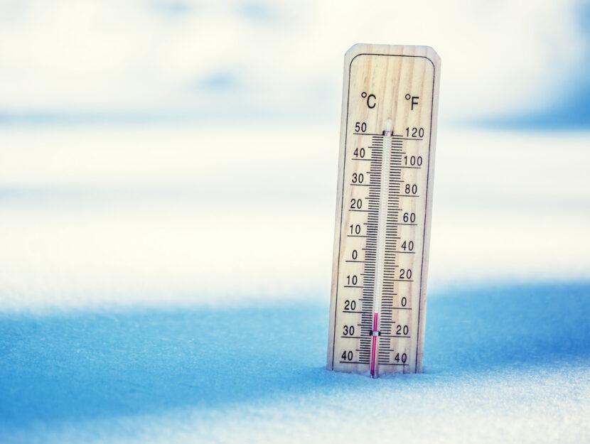 meteo fine inverno termometro