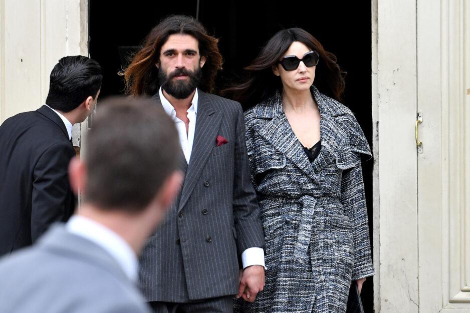 Monica Bellucci con il fidanzatoNicolas Lefebvre. Foto diJacopo Raule/Getty Images
