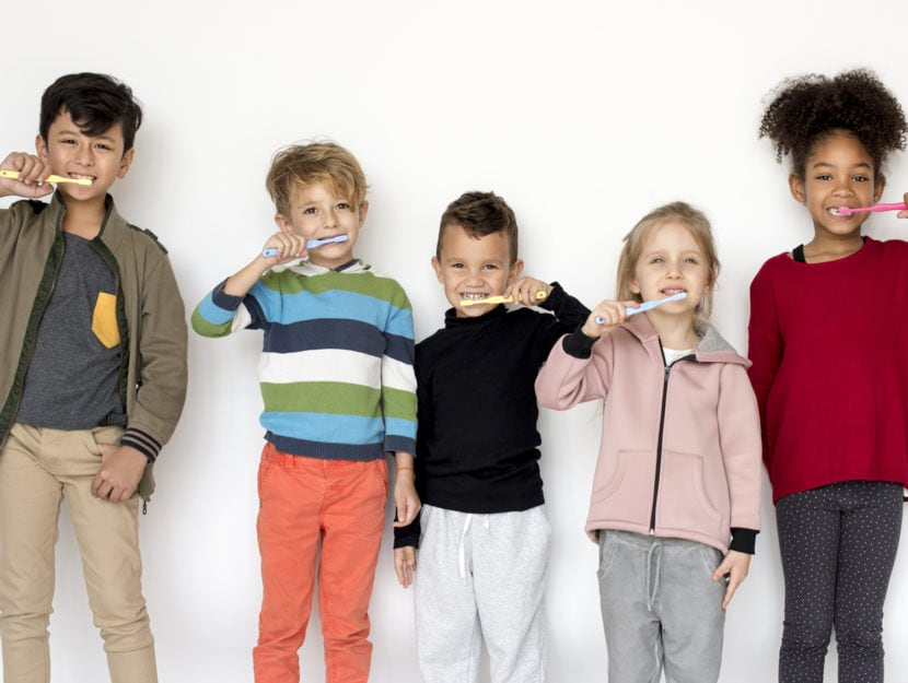 bambini senza carie salute denti