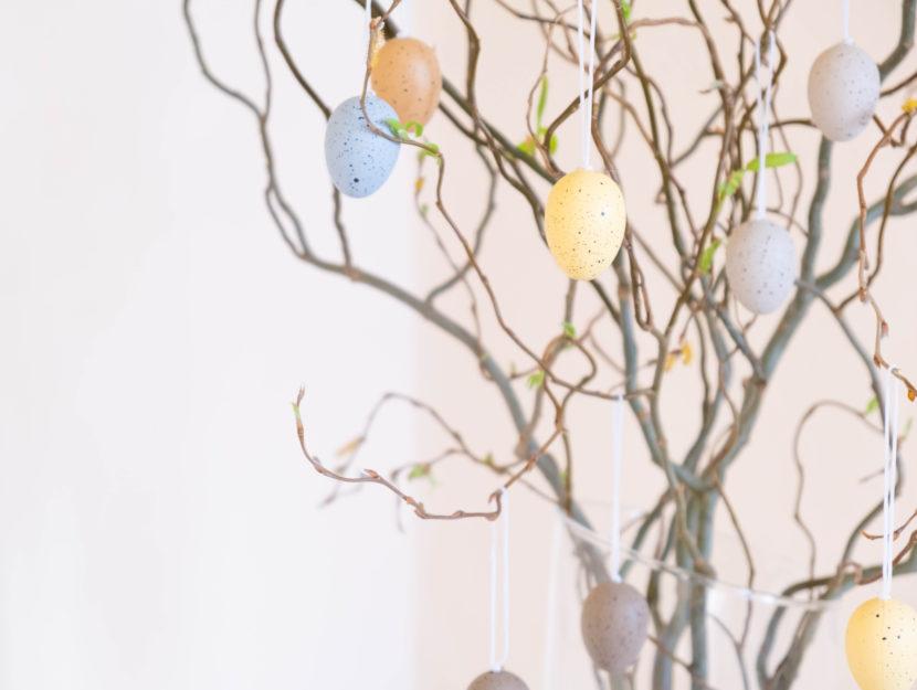 albero di pasqua fai da te idee