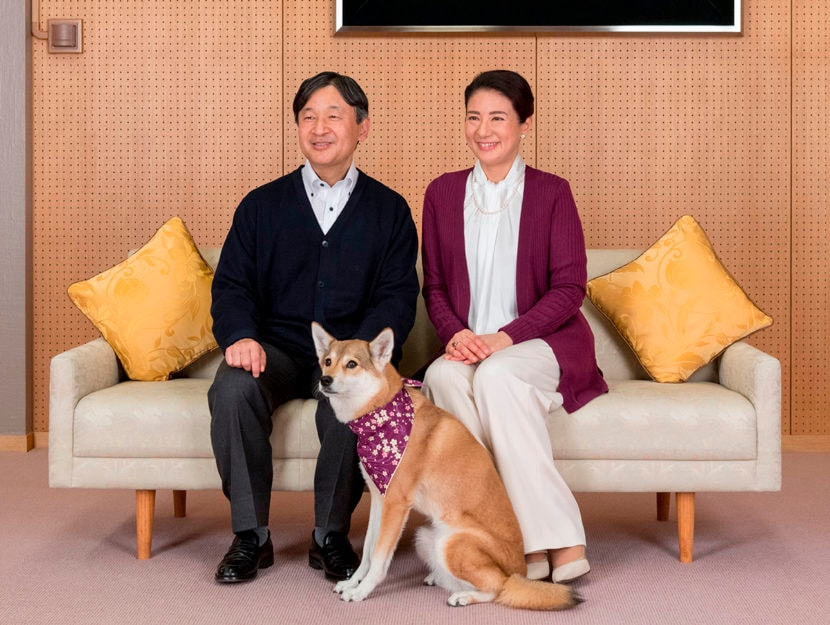 La nuova coppia imperiale: Naruhito, 59 anni, e Masako, 55. Foto di DOUGLAS CURRAN,HANDOUT/AFP/Getty