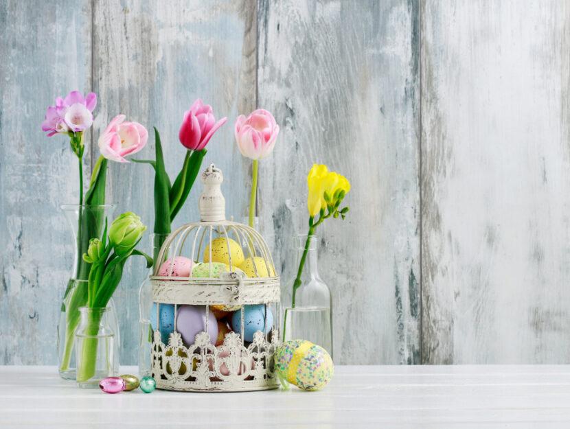 Idee creative per Pasqua con i fiori