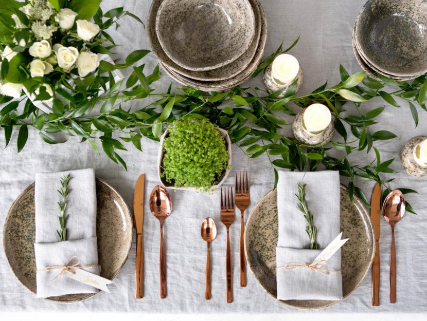 decorare tavola di pasqua fai da te