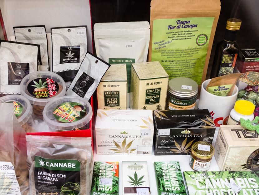 Cannabis shop negozio vendita