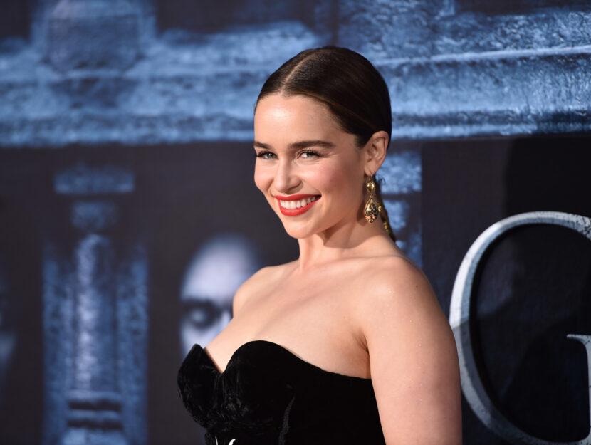 """Emilia Clarke, star de """"Il trono di spade"""" ha avuto un ictusa 24 anni. Dopo un periodo di riabilit"""