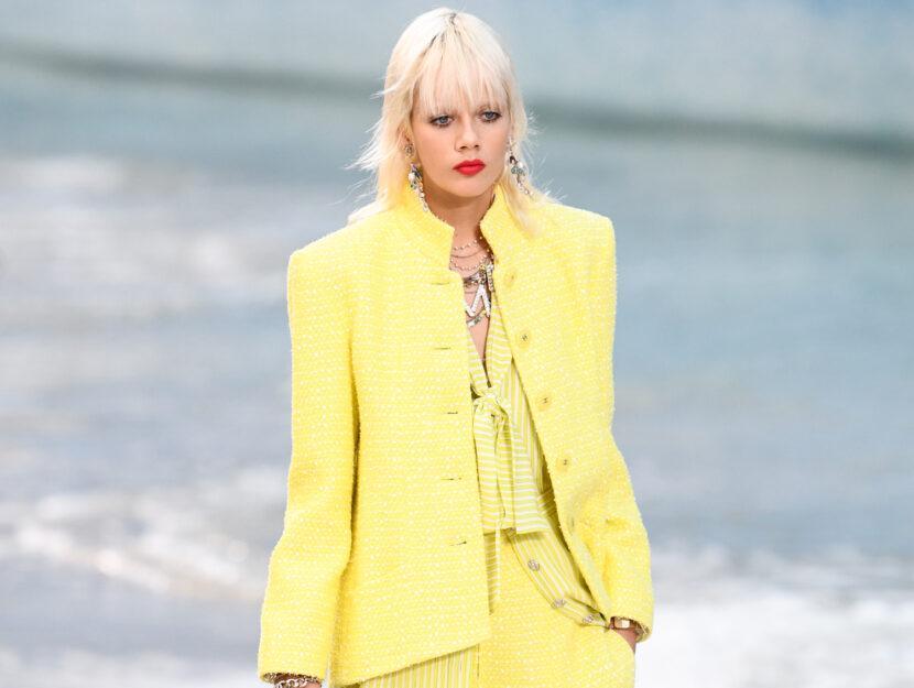 Chanel primavera estate 2019Credits: Getty Images