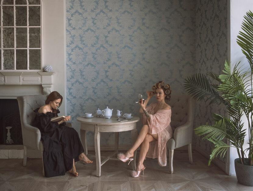 """Le immagini diquesto articolo fanno parte di """"Sister"""", lavoro autobiografico della fotografa russa"""