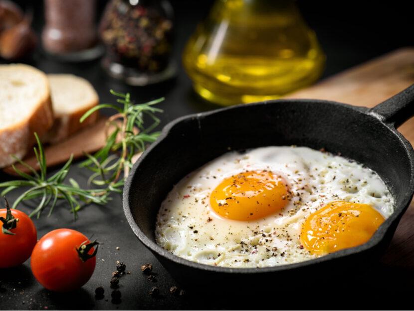 6 errori comuni nel cucinare le uova e i rimedi