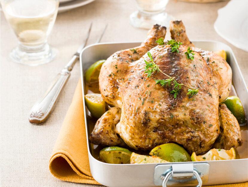 Pollo arrosto con spezie Cajun