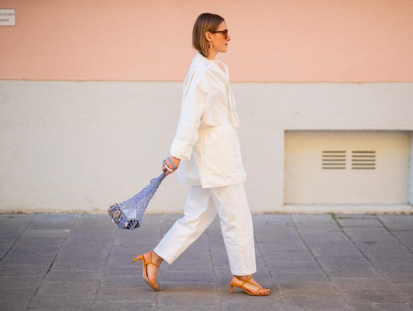 pantaloni bianchi 2019