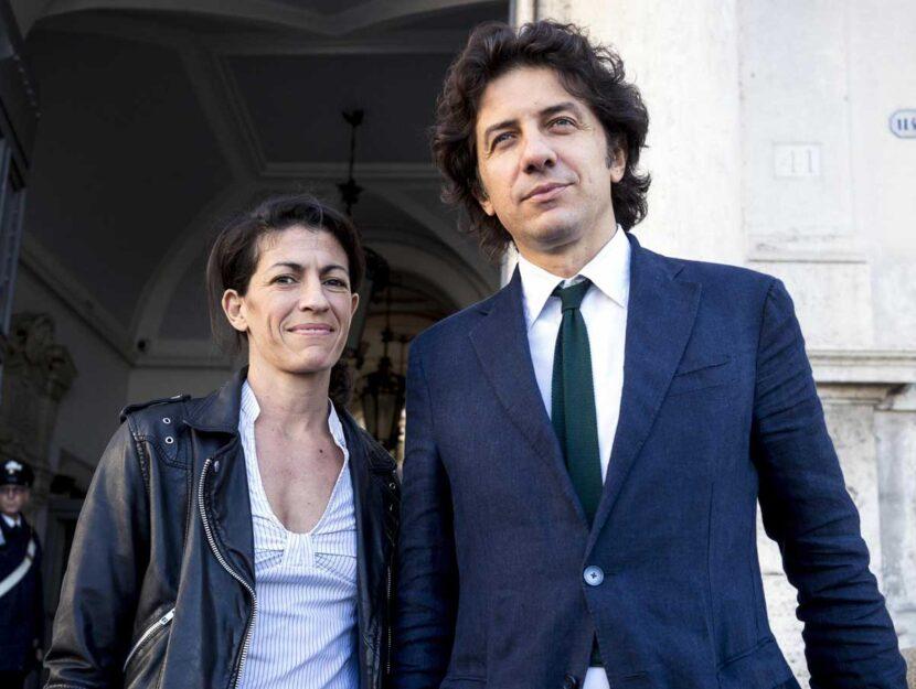 Marco Cappato e Valeria Imbrogno, la compagna di Dj Fabo