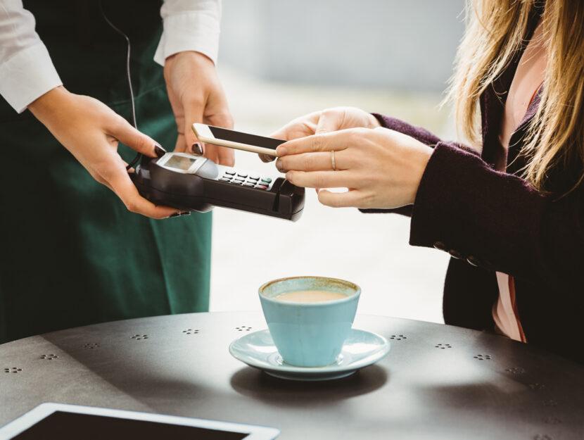 Bar pagamento cellulare