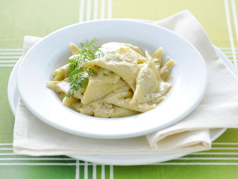 Pansotti in salsa ligure