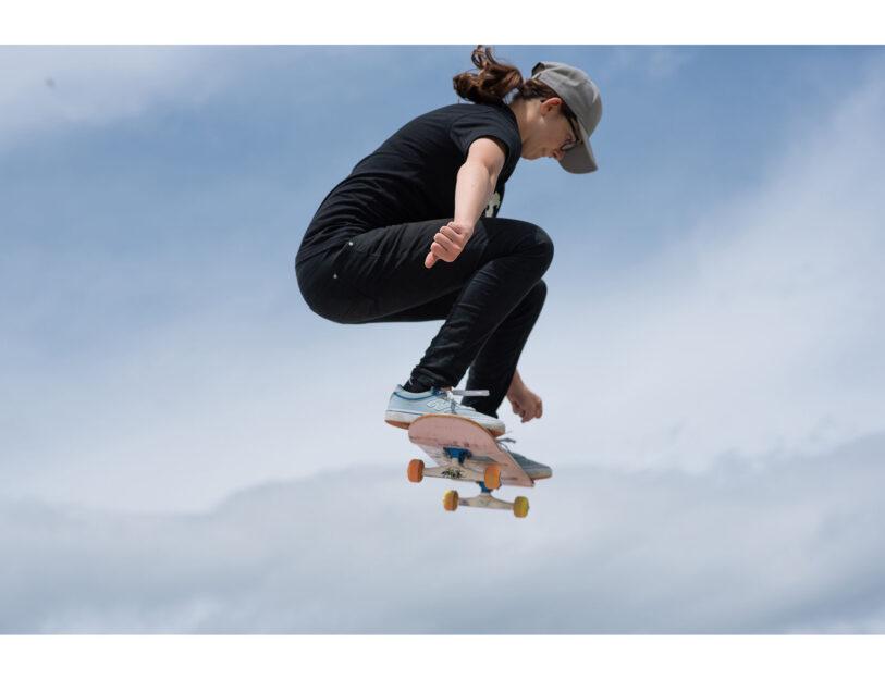 Asia Lanzi, 17enne di Cento (Ferrara), è nella Nazionale Skateboard(Foto di Anna Catalano)