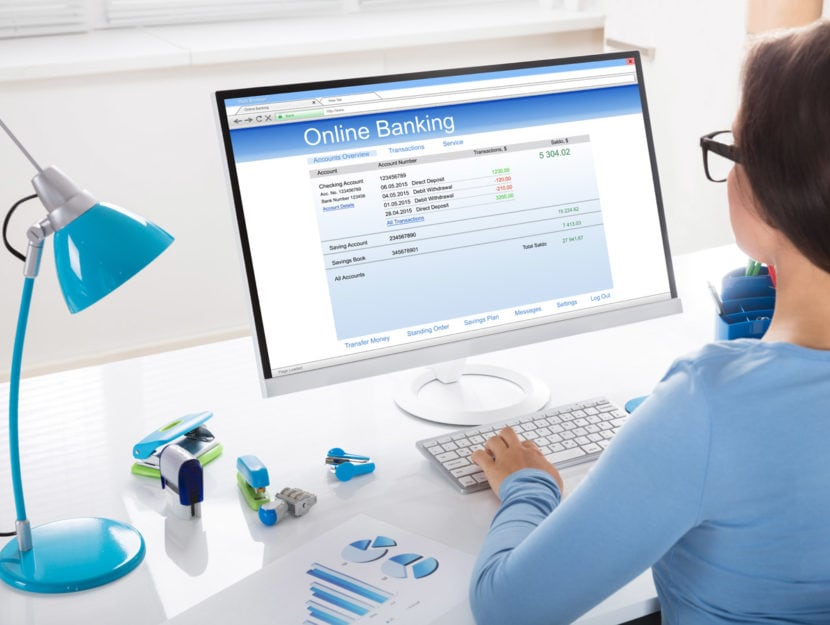 Donna online banking conto corrente pc