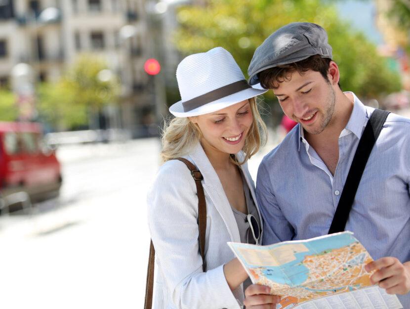 Turisti estero mappa