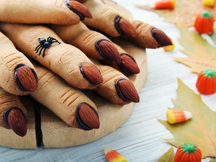 Dita di strega - biscotti di Halloween