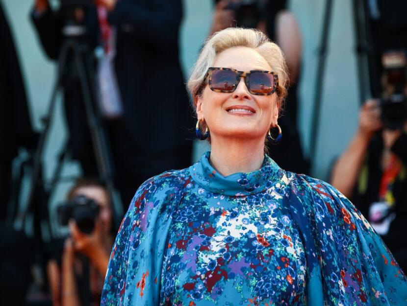 Meryl Streep walks the red carpet