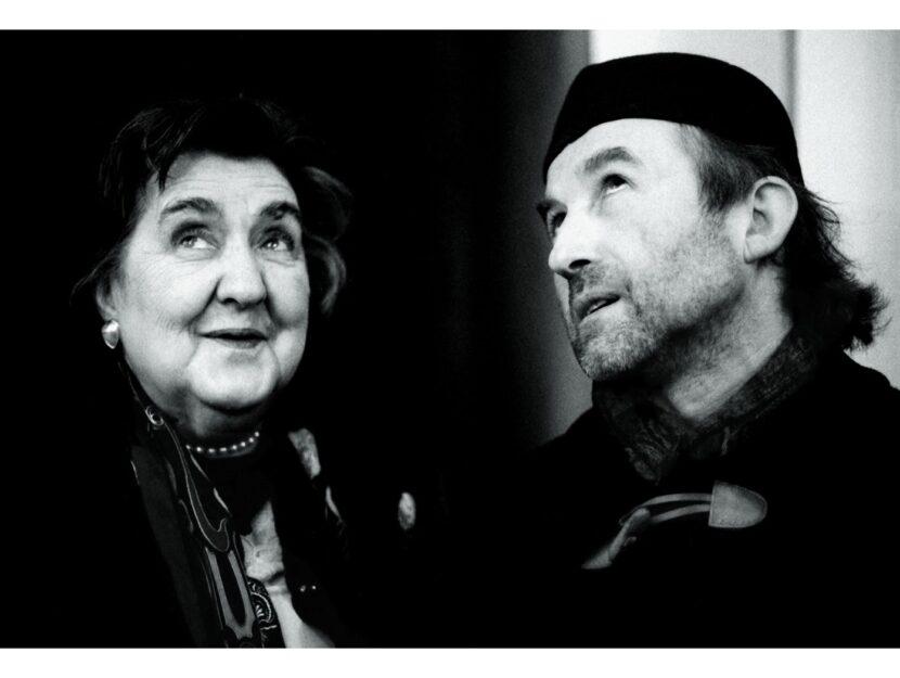 Uno scatto tratto dalla mostra Alda Merini e Alberto Casiraghy: storia di un'amicizia. La rassegna