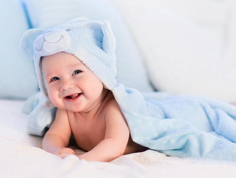 Bambino bebe letto accappatoio