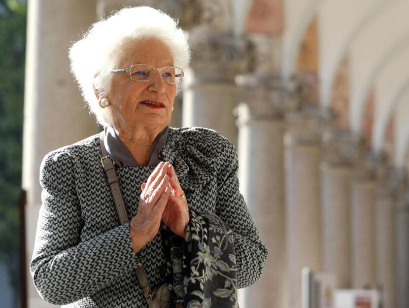 La senatrice a vita Liliana Segre all'università Statale di Milano