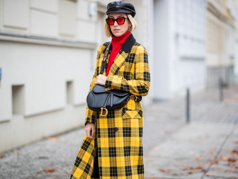 giacca tartan