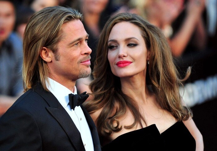 Jolie Brad in coppia