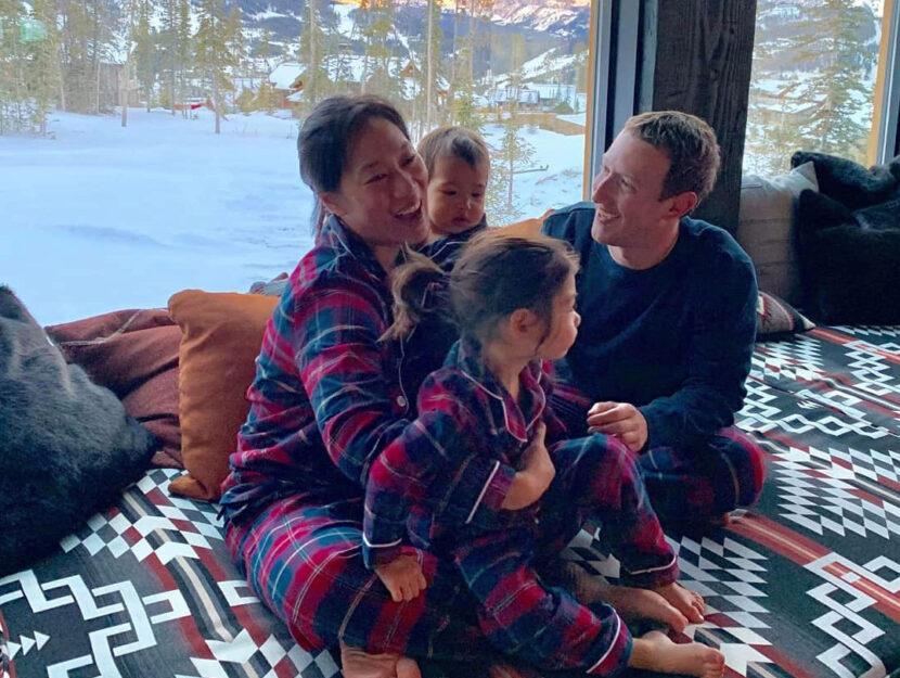 Mark Zuckerberg famiglia moglie figlie