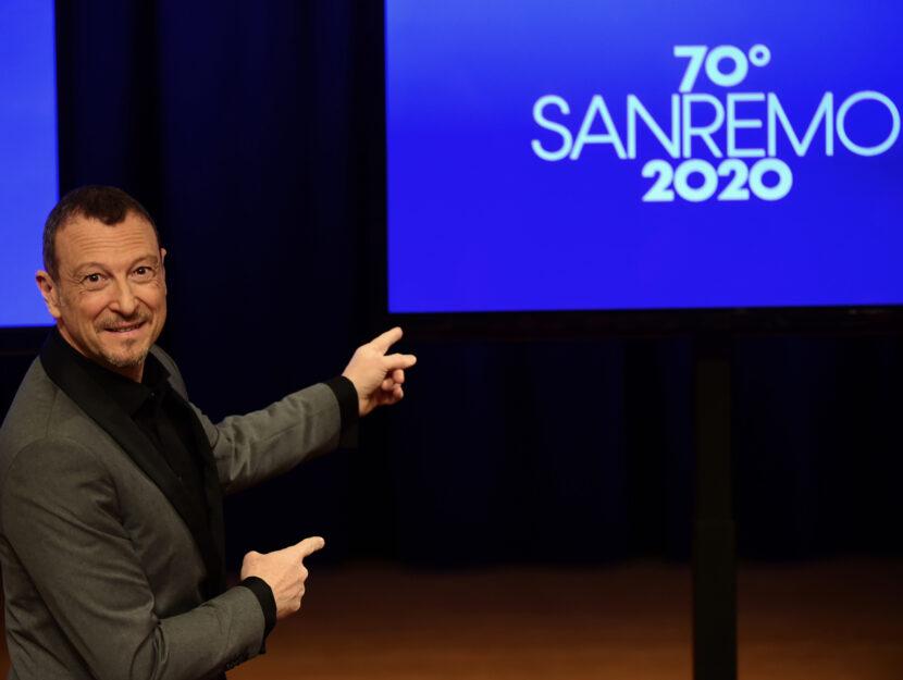Amadeus Sanremo 2020