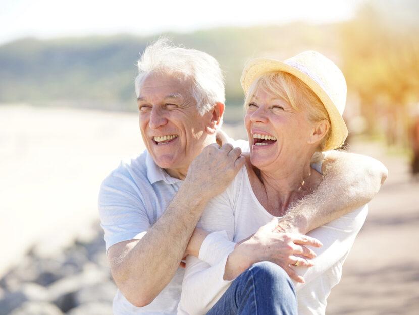 Anziani vacanza mare