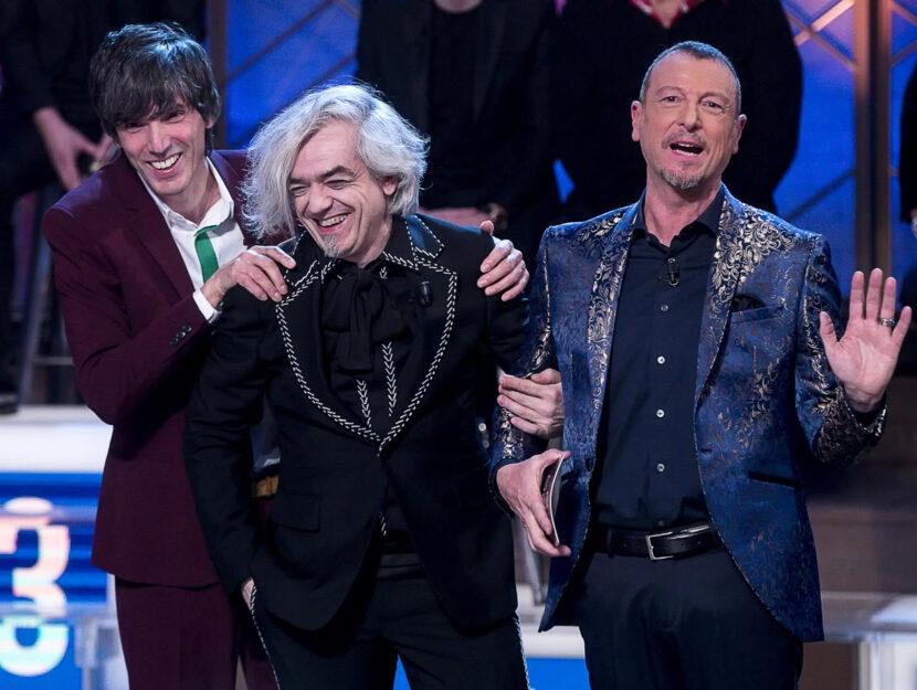 I cantanti partecipanti al Festival di Sanremo, Bugo e Morgan