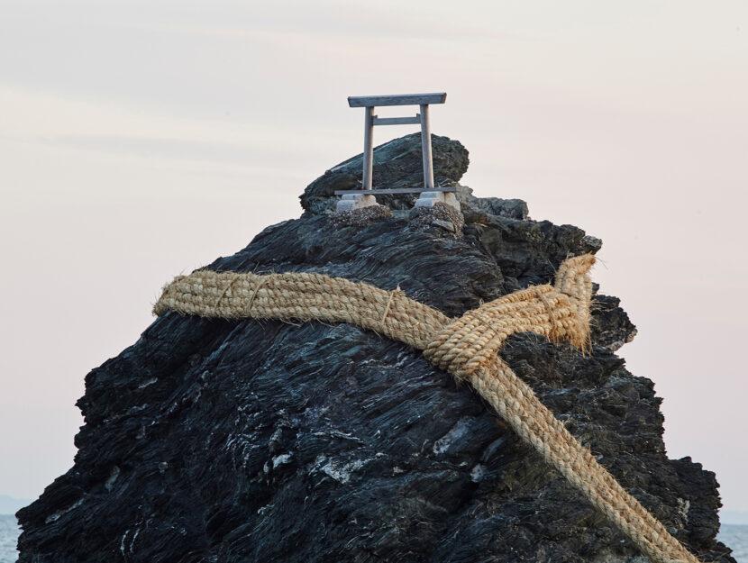 Meoto Iwa o rocce sposate - Giappone