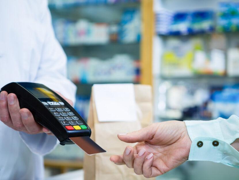 Pagamento carta credito farmacia