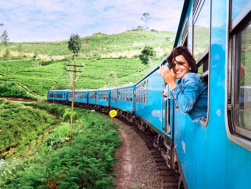 Viaggio in treno: turismo sostenibile