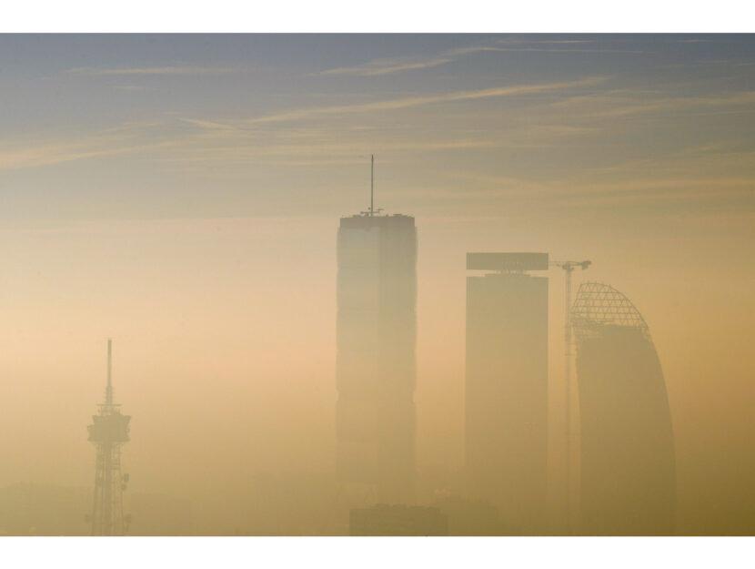 Inquinamento aria città smog