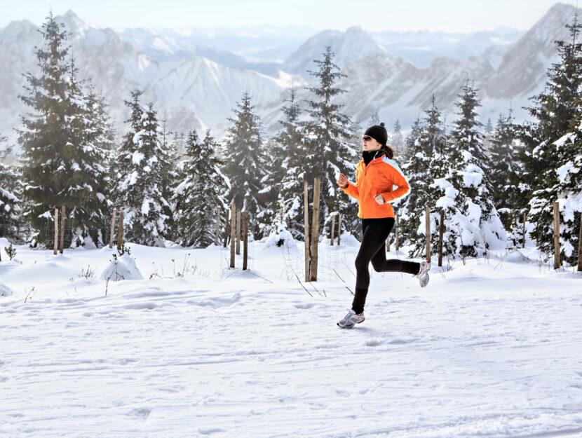 correre freddo inverno