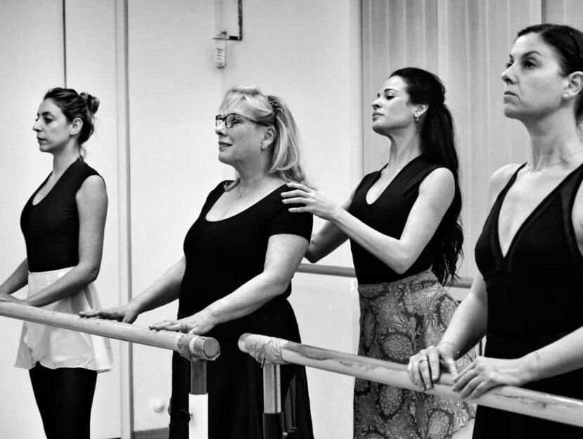 La scuola di Alina Quintana, autrice del libro autopubblicato Danza classica no under 40. Come intra
