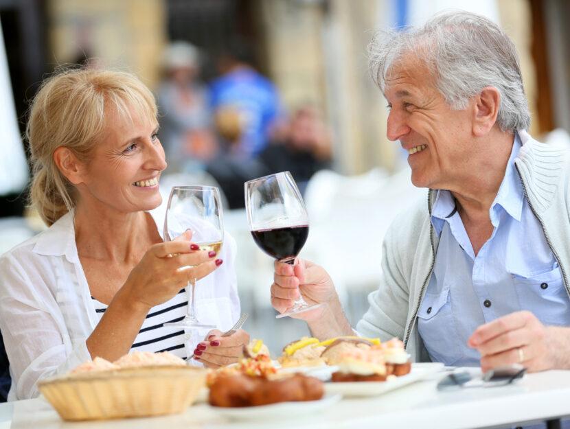 Anziani ristorante 60 anni