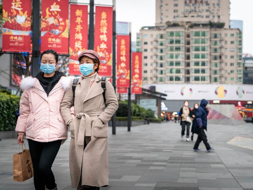 Coronavirus Cina Chengdu